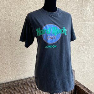Vintage Hard Rock Cafe London Mens Unisex Black L